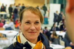 Erprobungsstufenkoordinatorin Frau Löchter im Gespräch