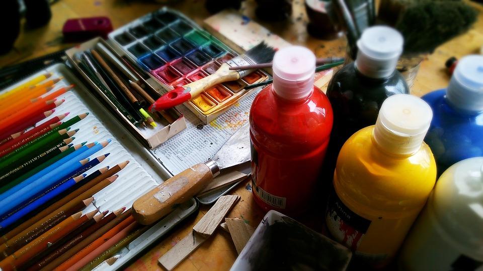 Kunst Farben