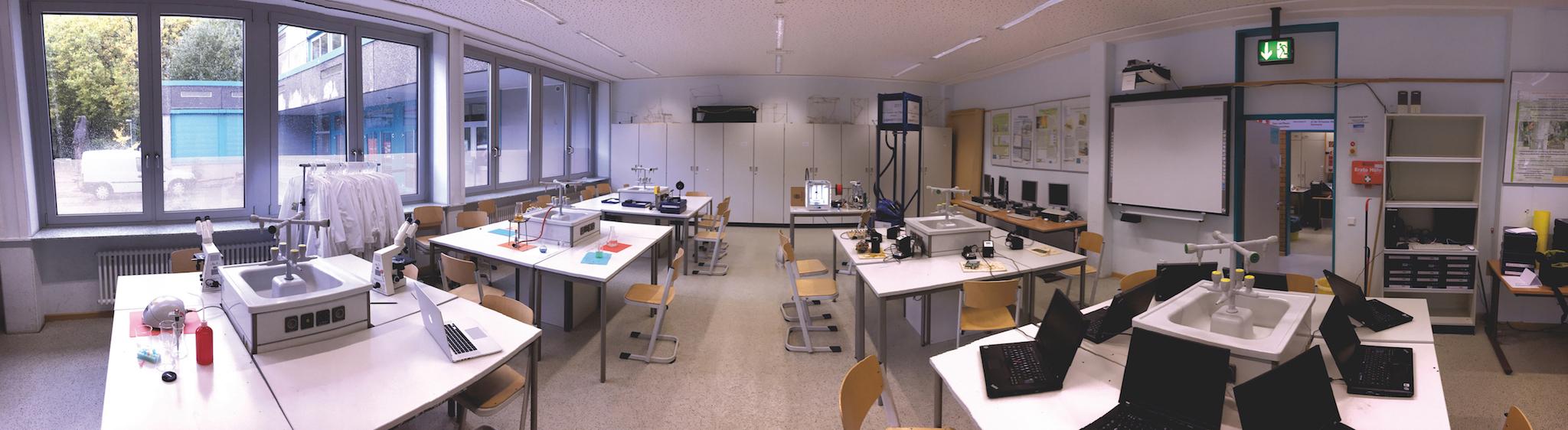Labor der MINT-AG