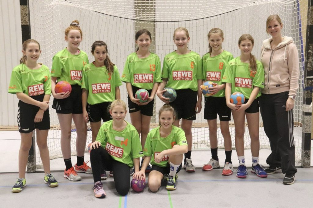 Handballerinnen gewinnen Stadtmeisterschaft
