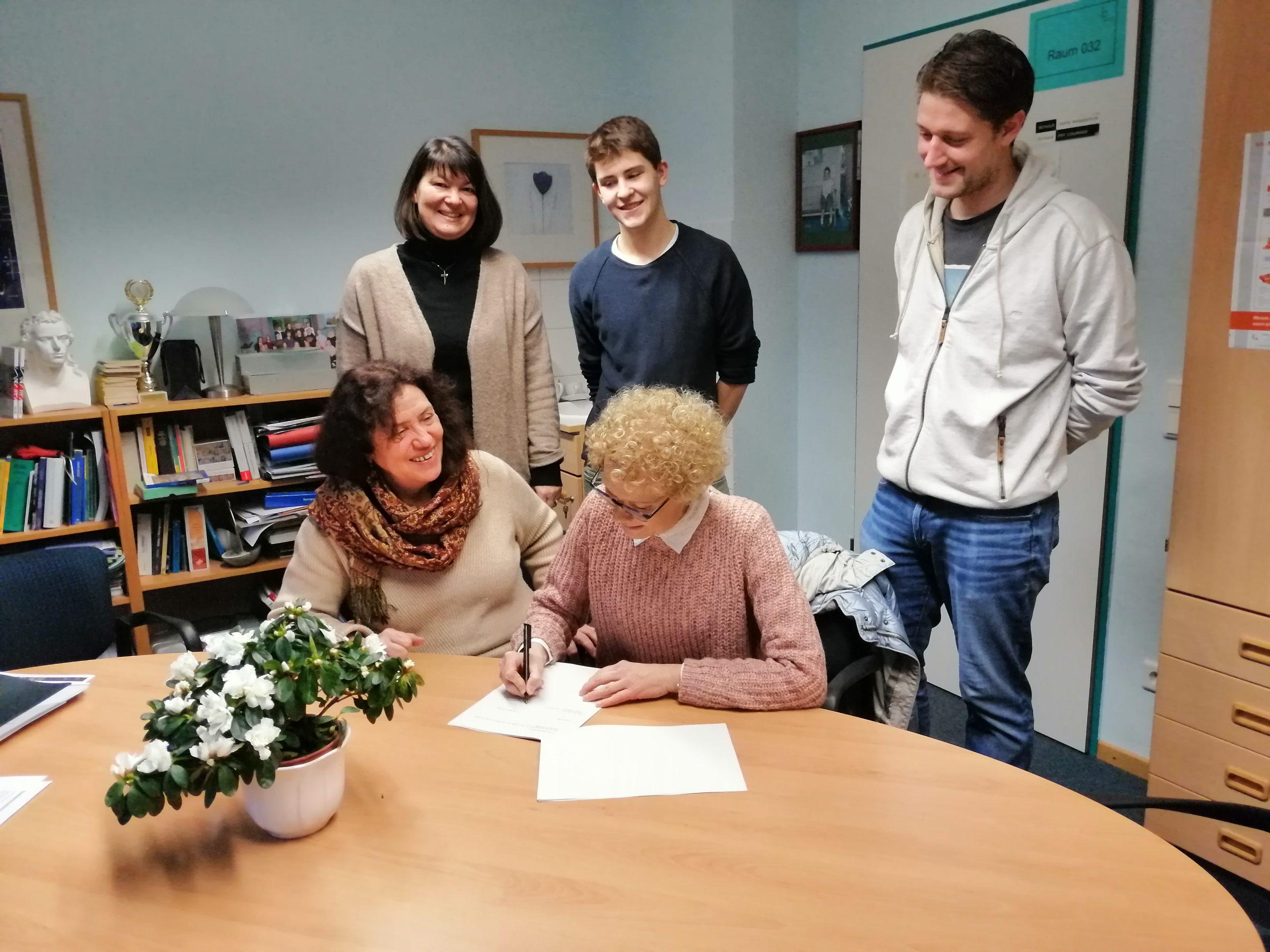 Kooperationsvereinbarung unterschrieben