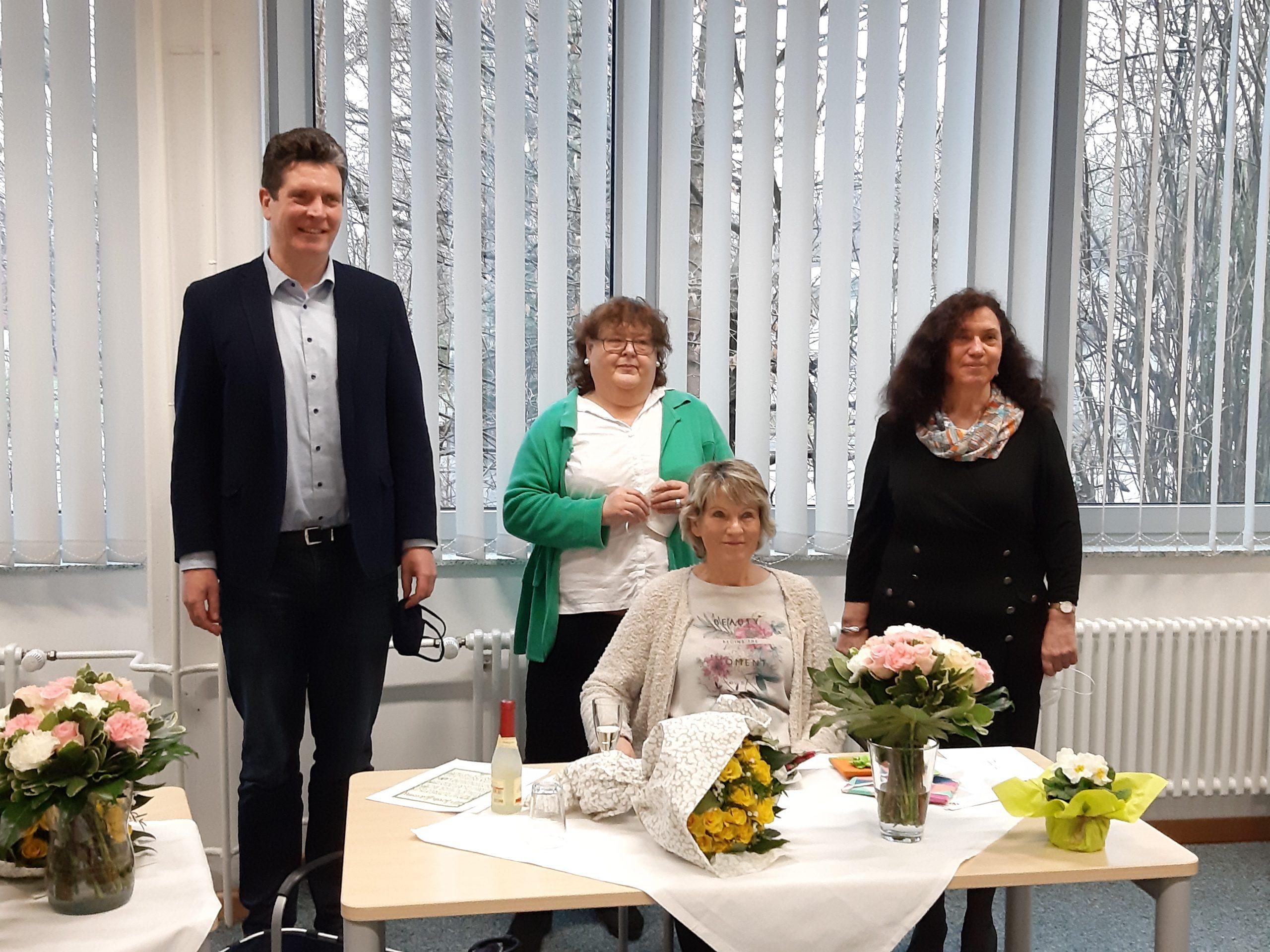 Verabschiedung unserer Kolleginnen in den Ruhestand